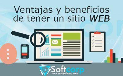 Ventajas y beneficios de tener un sitio Web